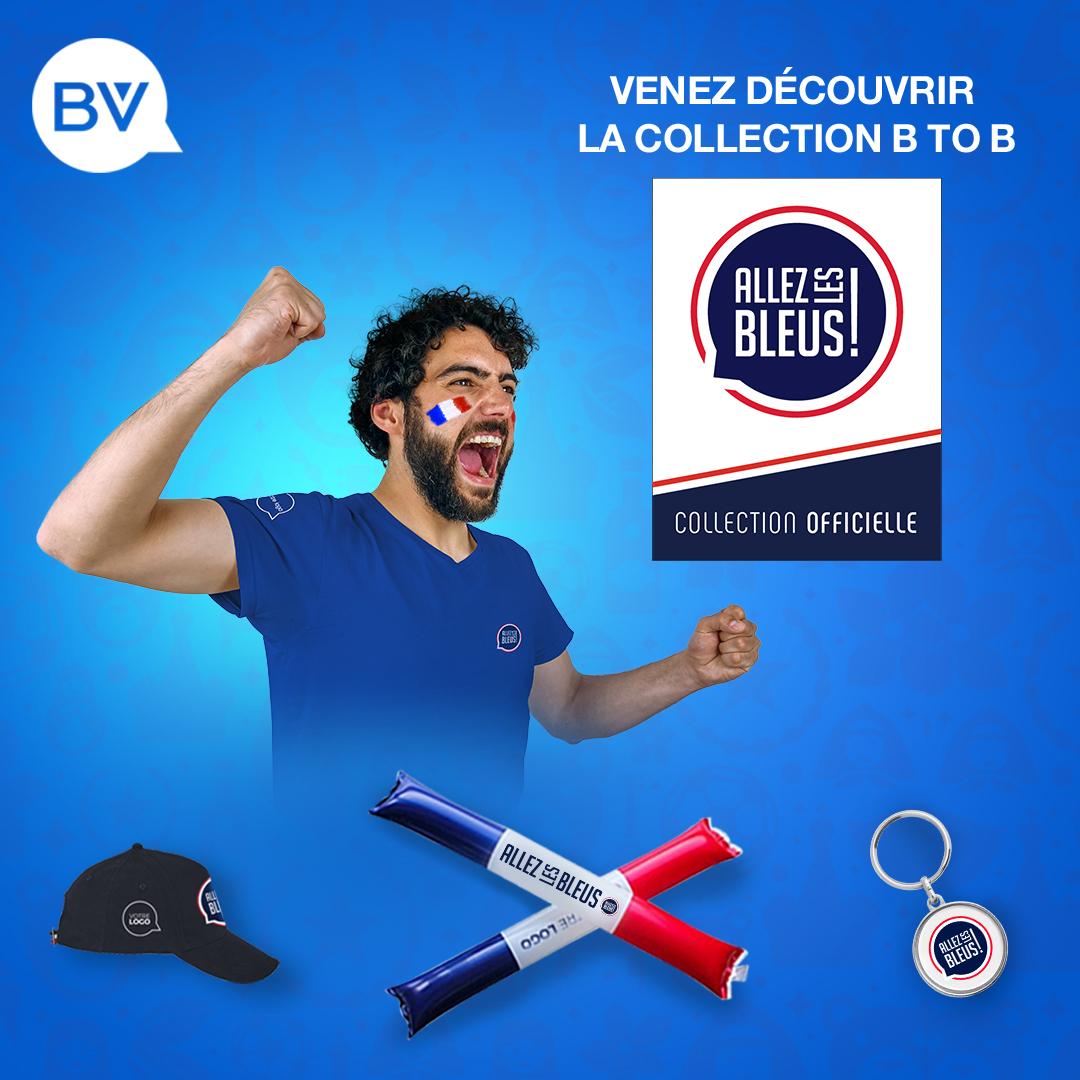 Collection officielle BtoB ALLEZ LES BLEUS !®** personnalisable !