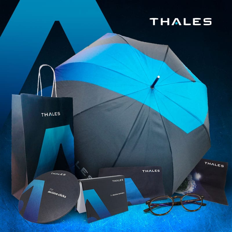 Objets personnalisés Thalès