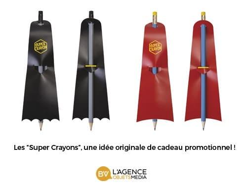 Super Crayon à papier publicitaire
