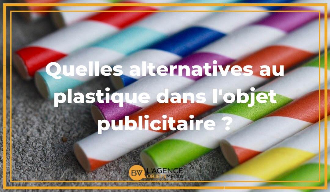 Alternatives au plastique