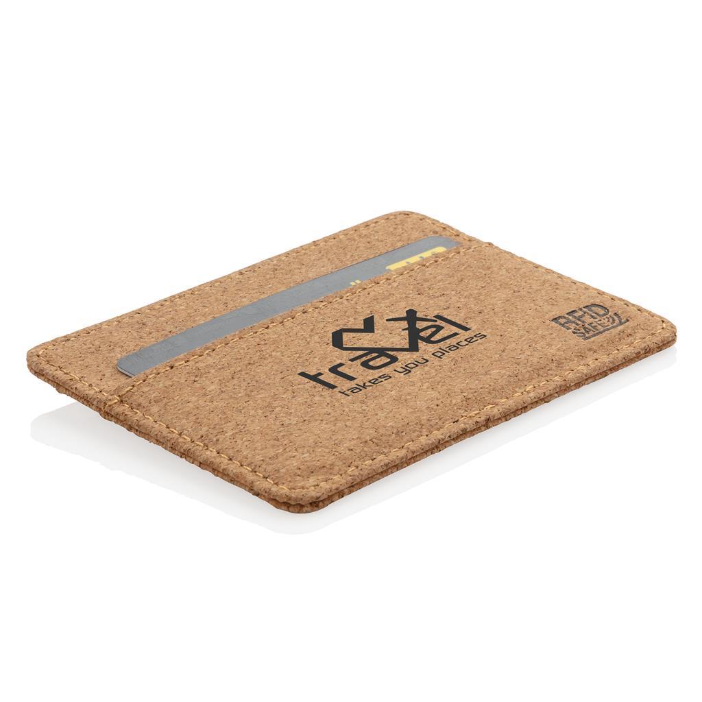 porte cartes anti RFID en liège
