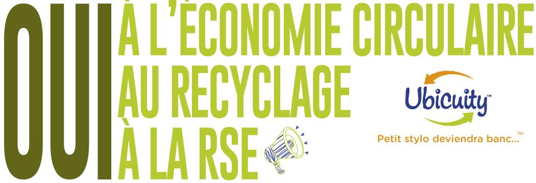 économie circulaire et rse
